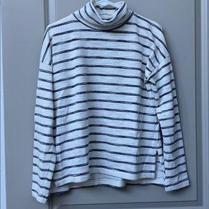 LIKE NEW J.Crew Striped Super Soft Sweatshirt